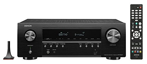 Denon AVR-S640H Audio Video Receiver, 5.2 Channel 4K Ultra HD Home Theater Surround Sound and Music Streaming System - Wi-Fi, Bluetooth, Airplay, Alexa and HEOS Wireless Speaker Expansion Built In by Denon (Image #3)