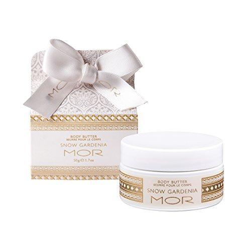 Mor Cosmetics Mini Body Butter, Snow Gardenia, 1.7-Ounce