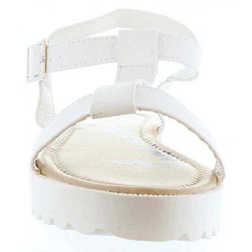 Sandalias de Mujer URBAN B716751-B7200 WHITE Talla 40 wLa6D82Tr