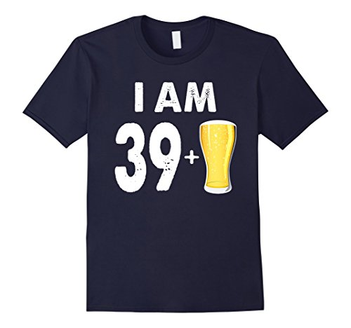 Bottle Of Alcohol Costume (Mens 40 Years Old Beer Gift 40th Birthday Shirt Medium Navy)