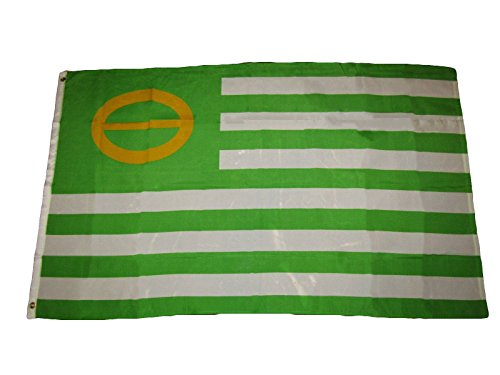 (ALBATROS 3 ft x 5 ft Ecology Earth Day Environmental Awareness Flag Banner Brass Grommets for Home and Parades, Official Party, All Weather Indoors Outdoors)