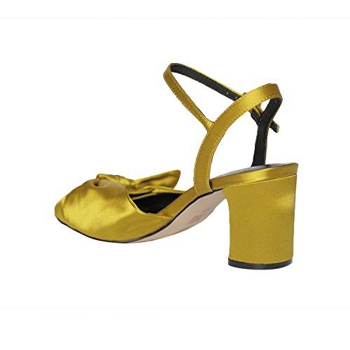 per donna giallo Lou Bibi Sandali xOWSqwYUWa
