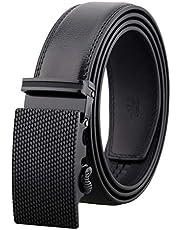HCFKJ Elegante Y Desmontable CinturóN De Vestir De Cuero Con Hebilla AutomáTica Para Hombres Desmontables
