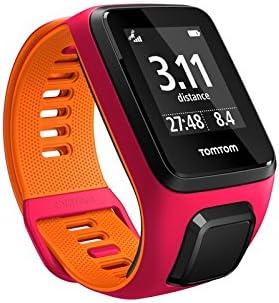 TomTom Runner 3 Cardio, Reloj cardio, Rosa/Naranja, S (Pequeña ...