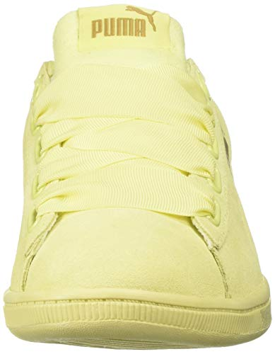 Yellow soft Basses Femme Ribbon Yellow Vikky Fluo Puma Soft 70Yaqax