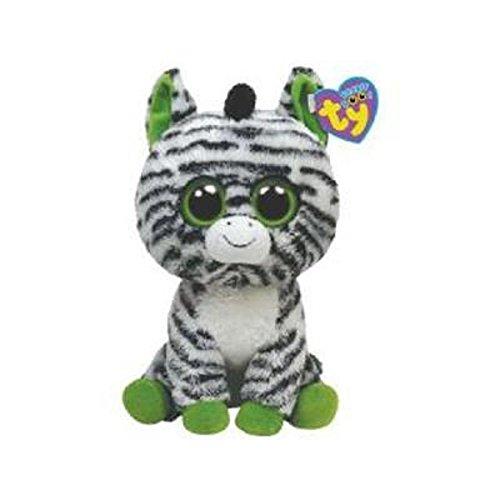 (Ty Beanie Boos Zig-Zag - Zebra - (Solid Eye Color) - 6 inch)
