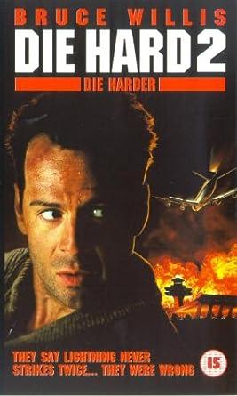 Die Hard 2 Die Harder 1989 Vhs 1990 Bruce Willis William Atherton Bonnie Bedelia Reginald Veljohnson Franco Nero William Sadler John Amos Dennis Franz Art Evans Fred Dalton Thompson Tom Bower