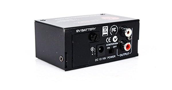 Amazon.com: SM Pro Audio XP200 Turntable/Phono ...