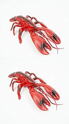 Fun Express Plastic Lobster (2-Pack)