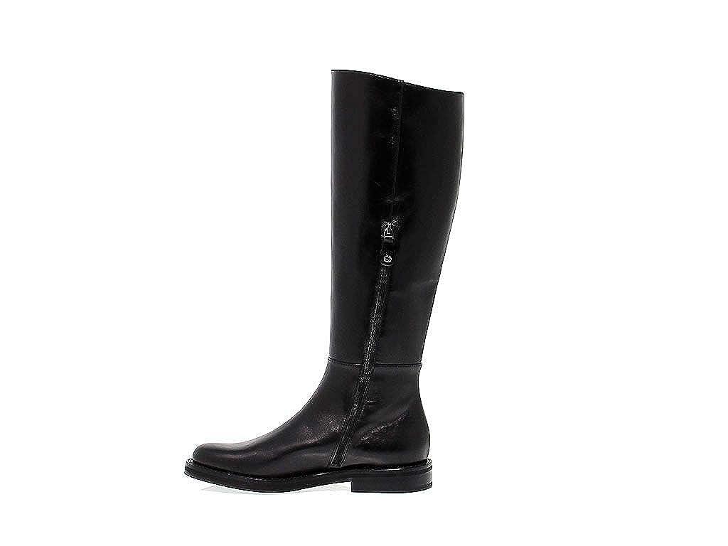 Fabi Damen AKANAschwarz Schwarz Schwarz Schwarz Leder Stiefel 49c9ca