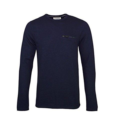 Tom Tailor Sweater Pullover Slub Rundhals 2555089 0012 6576 M XXL