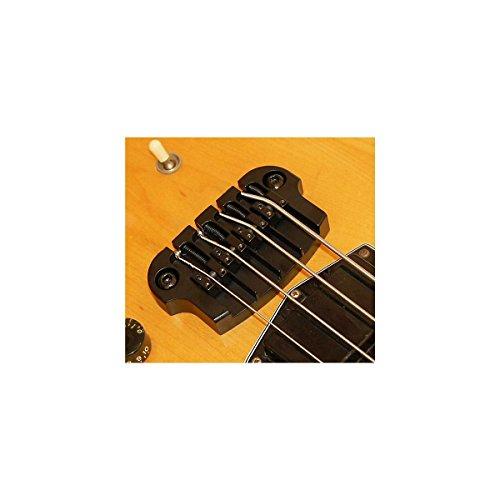 Hipshot SuperTone Gibson 3-Point Bass Bridge Black by Hipshot