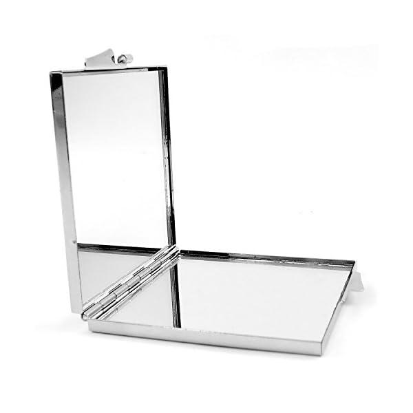 LolaPix Espejo Cuadrado Personalizado con tu Foto, diseño o Texto, Original y Exclusivo. Varias Formas 4