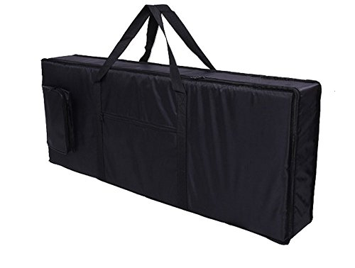 Tosnail 61-note Keyboard Gig Bag, 39'' X 16