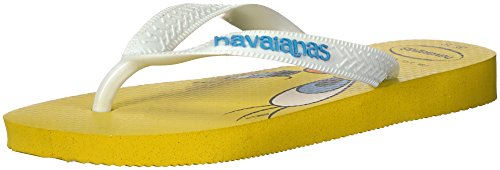 Havaianas Kid's Looney Tunes Sandal (Toddler/Little Kid),Citrus Yellow,31/32 BR (2 M US Little Kid)