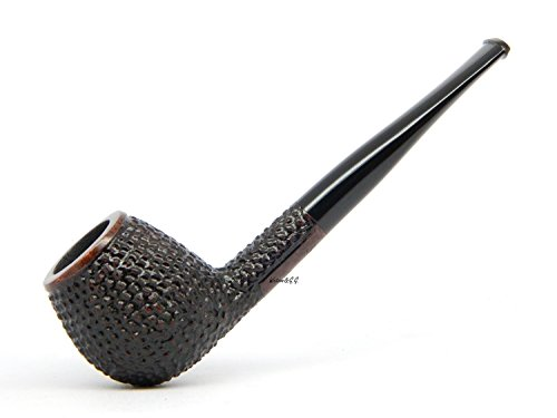 WatsonG.G. – BRIAR Tobacco smoking pipe – Polo – Hand Made (metal cooling filter) (special edition for Watson) (Rust)