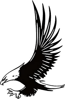 Amazon Com Bald Eagle Home Decal Vinyl Sticker 14 X 10 Home