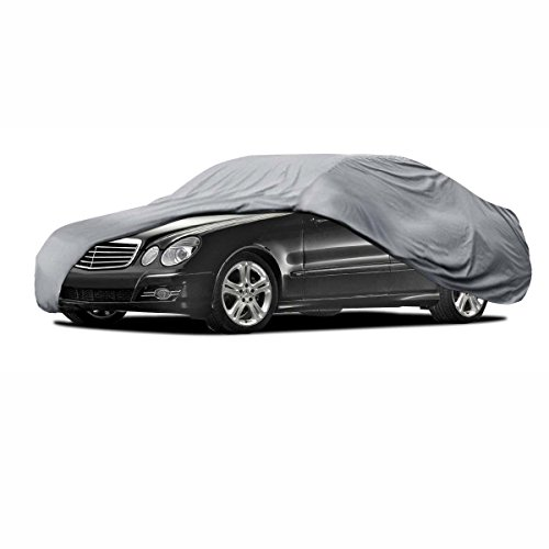 Car Cover for Mercedes E Class All Weataher Waterproof UV Block 4 Layers
