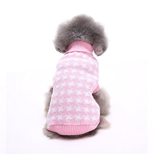 Puppy Clothes,Haoricu Winter Autumn Lovely Pet Sweater For Smal Dogs Puppy Dog Costume Cold Weather Coat (XXL, (Cold Weather Halloween Costumes)