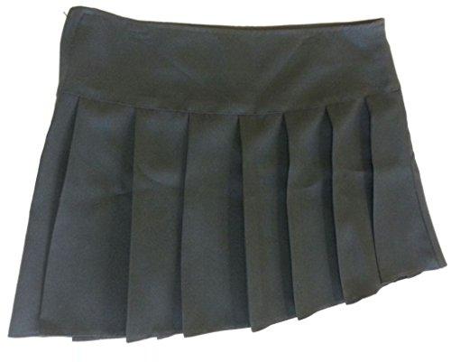 Kimono de para la escuela traje de neopreno para mujer Summer largo de parte inferior e instrucciones para hacer vestidos de su caballo en cualquier para faldas plisadas negro