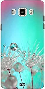 DailyObjects Rainbow Dandelion Macro With Droplets Case For Samsung Galaxy J7 2016 Edition