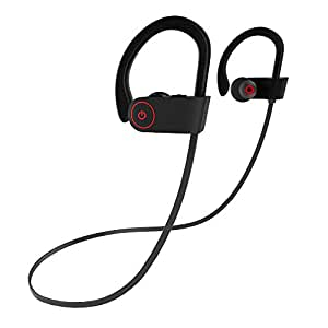 TKSTAR Wireless Earphone for Running 240h Long Standby Waterproof Sport Headphone Bluetooth Earbuds 8h Playtime Noise Cancel for Earpods Airpods