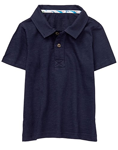Gymboree Baby Boys Short Sleeve Polo Shirt, Navy, 2T by Gymboree