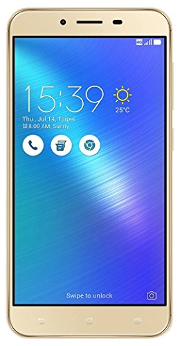 Asus Zenfone 3 Max ZC553KL 3GB / 32GB 5.5-inch 4G LTE Dual SIM FACTORY UNLOCKED - International Stock No Warranty (GLACIER SILVER)
