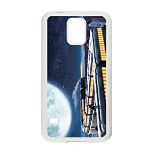 SamSung Galaxy S5 phone cases White The Polar Express cell phone cases Beautiful gifts JUW80994005