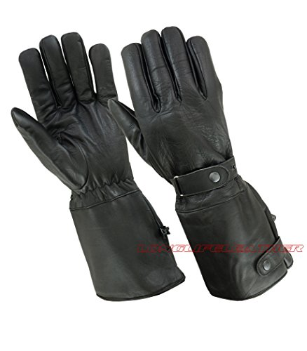 Long Motorcycle Gloves - 3