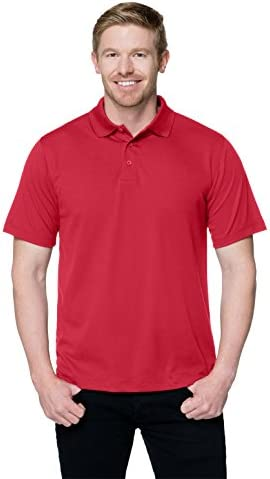 Tri-Mountain Performance Men`s K020 Vital Polo Shirt