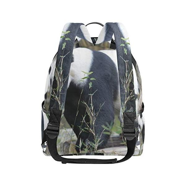 Panda zaino per donne adolescenti ragazze borsa alla moda borsa libreria bambini viaggio college casual zaino ragazzo… 3 spesavip