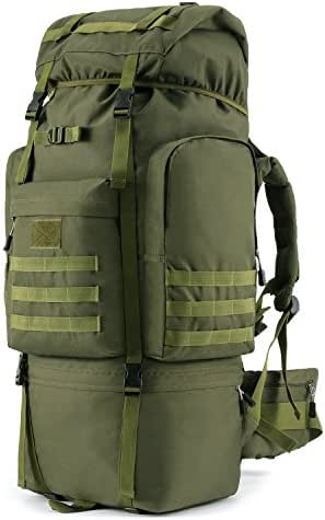 Gonex 100L Hiking Camping Backpack Internal Frame Tactical Backpack 900D Mountaineering Pack