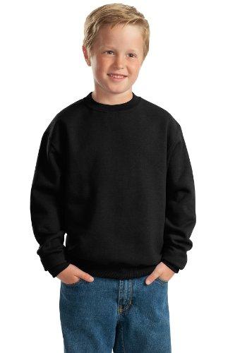 562b Sweatshirt Jerzees (Jerzees Youth Crewneck Sweatshirt, Birch, M)
