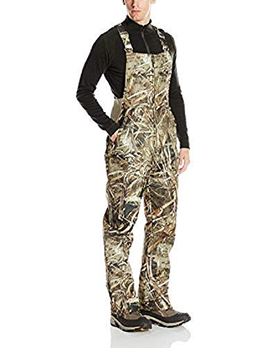 Arctix Men's Essential Insulated Bib Overalls, Realtree MAX-5 Camo, 2X-Large (44-46W 32L)