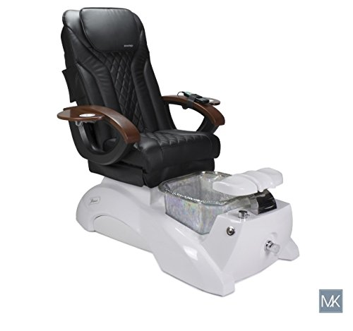 Used, Shiatsulogic Pedicure Spa FLORENCE WHITE PEARL Black for sale  Delivered anywhere in USA