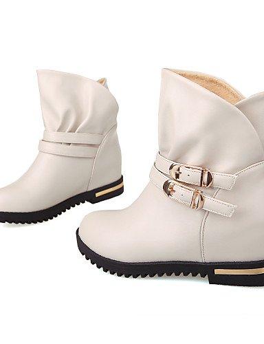 Uk6 Brown La Marrón Plataforma negro Moda Botas Casual Zapatos us8 Trabajo Exterior Eu36 Uk4 Mujer Cn39 De Comfort Xzz Oficina Eu39 Semicuero Y us6 Cn36 A Black T0RqCw0x