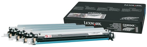 Lexmark Photoconductor Multipack, for Use in Cyan Magenta Yellow or Black, 4 x 20000 Yield (C53074X) ()