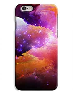 Cloudy Colourful Space iPhone 6 Case