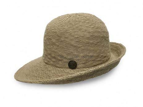 6dbf2f5dc7c Amazon.com  Shihreen UV Protective Turn Brim Hat (Natural)  Clothing