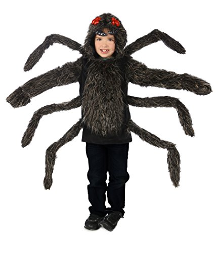 Princess Paradise Baby's Child Tarantula Hoodie, Black, Small/Medium