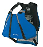 ONYX MoveVent Curve Paddle Sports Life Vest, Medium/Large, Blue