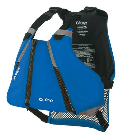 (Onyx MoveVent Curve Paddle Sports Life Vest, X-Small/Small, Blue)