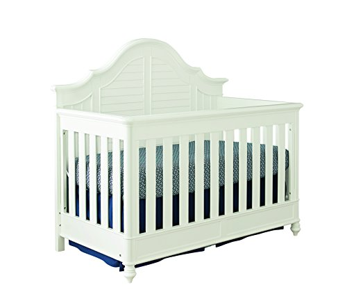 Bassett Cottage Collection - Bassett Nantucket 4-in-1 Convertible Crib, Cotton White