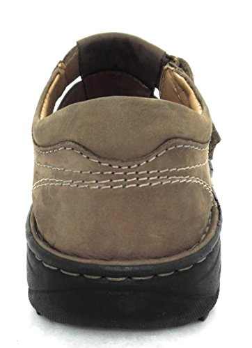 Sandales Hommes daim d'été Homme Randonnée Sandales Cuir Sandales Sandales Moka Hommes Hommes Zerimar Trekking Sandales en de Hommes 1YHTHq