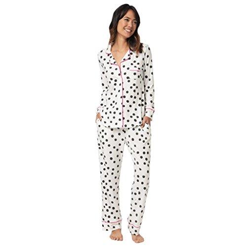 The Cat's Pajamas Sprinkle Dots Knit Pajama Extra-Small