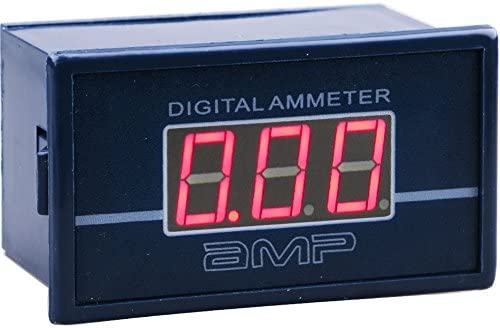 "0.56/"" RED LED Display AC 0-10A Panel Ammeter AMP Ampere Meter Power by AC220V"