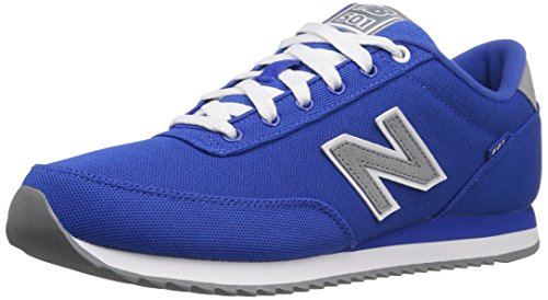 New Balance Men's MZ501 Pique Polo Pack Fashion Sneaker, Blue/Gunmetal, 11.5 D US