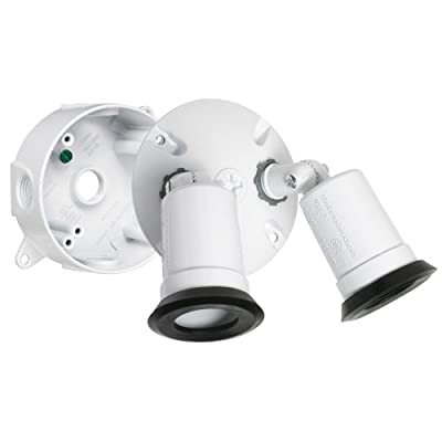Hubbell-Bell LT233WH Traditional Outdoor Flood Light Kit, White