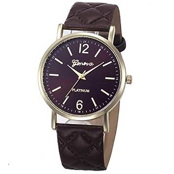 WZFCSAE Relojes Mujer Mujer Relojes Moda Reloj Casual ...